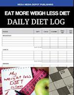Eat More Weigh Less Diet Daily Diet Log