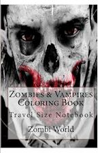 Zombies & Vampires Coloring Book
