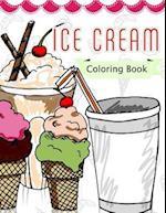 Ice Cream Coloring Book