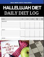 Hallelujah Diet Daily Diet Log