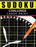 Sudoku Challenge Large Print