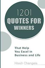 1201 Quotes for Winners