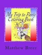My Trip to Paris Coloring Book