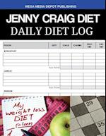 Jenny Craig Diet Daily Diet Log