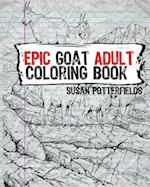 Epic Goat Adult Coloring Book
