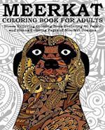 Meerkat Coloring Book for Adults
