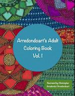 Arredondoart's Adult Coloring Book Vol.