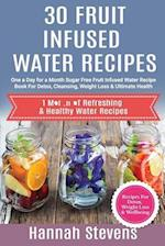 30 Fruit Infused Water Recipes