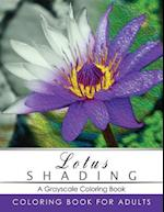 Lotus Shading Coloring Book