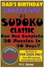 Dad's Birthday Challenge at Sudoku Classic - Hard
