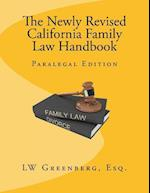 The Newly Revised California Family Law Handbook