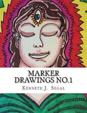 Marker Drawings No.1 af Kenneth J. Segal