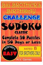 Big Brother's Birthday Challenge at Sudoku Classic - Easy