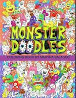 Doodle Monsters Coloring Book