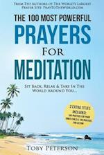 Prayer the 100 Most Powerful Prayers for Meditation 2 Amazing Bonus Books to Pray for Your Inner Child & Action