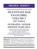 Rigos Primer Series Uniform Bar Exam (Ube) Multistate Bar Exam (MBE) Volume 2 af MR James J. Rigos