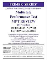 Rigos Primer Series Uniform Bar Exam (Ube) Multistate Performance Test (Mpt) Review