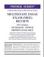 Rigos Primer Series Uniform Bar Exam (Ube) Review Multistate Essay Exam (Mee)
