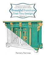 Painted Furniture Coloring Book Volume 1