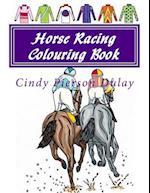 Horse Racing Colouring Book