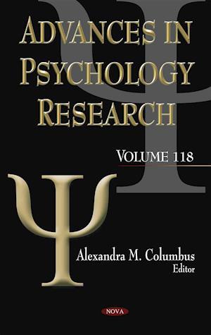 Bog, hardback Advances in Psychology Research af Alexandra M. Columbus