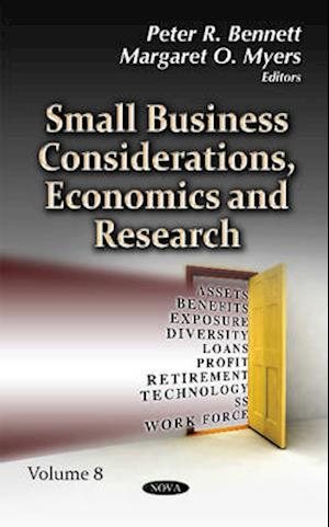 Bog, hardback Small Business Considerations, Economics & Research af Peter R. Bennett