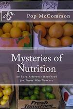 Mysteries of Nutrition