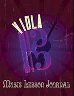 Viola Music Lesson Journal