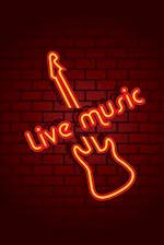 Neon Live Music Sign Journal