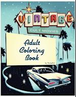 Cult Movie Adult Coloring Book