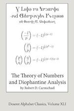 The Theory of Numbers and Diophantine Analysis (Deseret Alphabet Edition)