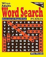 Wise Adults Word Search Puzzles, Vol. 3