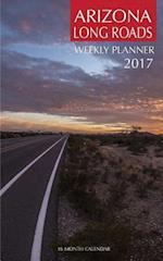 Arizona Long Roads Weekly Planner 2017