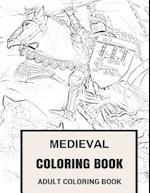 Medieval Coloring Book