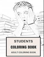 Students Coloring Book