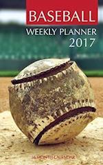 Baseball Weekly Planner 2017