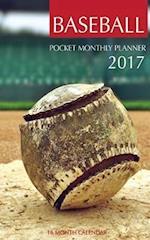 Baseball Pocket Monthly Planner 2017