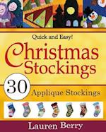 Quick and Easy Christmas Stockings