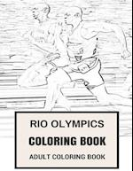 Rio Olympics Coloring Book