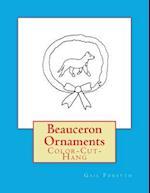 Beauceron Ornaments