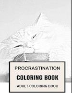 Procrastination Coloring Book