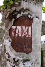 Taxi Sign on a Tree Journal