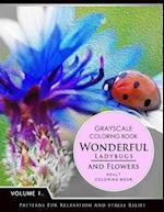 Wonderful Ladybugs and Flowers Book 1
