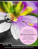 Wonderful Ladybugs and Flowers Books 3