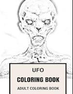 UFO Coloring Book