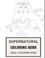 Supernatural Coloring Book