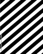 Stripes Patterned Notebook