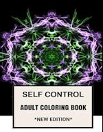 Self Control Adult Coloring Book
