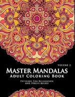 Master Mandala Adult Coloring Book Volume 2