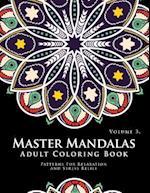 Master Mandala Adult Coloring Book Volume 3